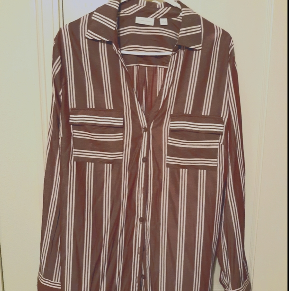 New York & Company Collared Blouse